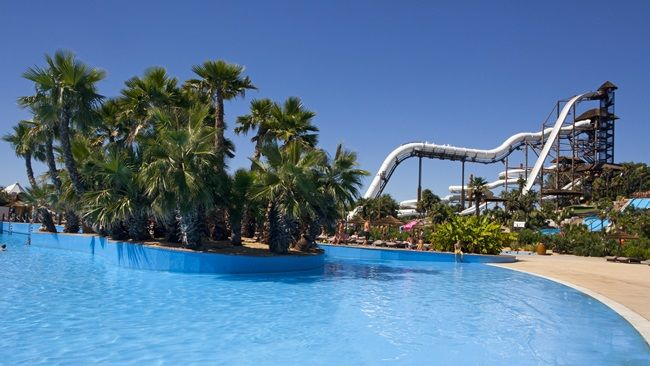 Aqualandia waterpark in Benidorm